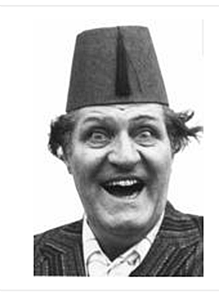 Tommy Cooper fridge magnet   (se)
